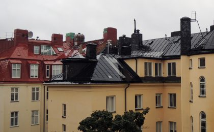 En takterrass i sydväst